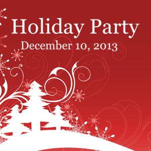 Past Event: December 10, 2013: Holiday Happy Hour
