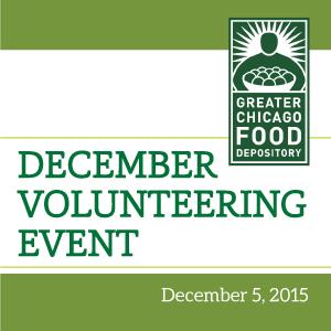 Past Event - December Volunteering Event