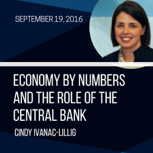 Past Event - September 19: Economy by Numbers and the Role of the Central Bank