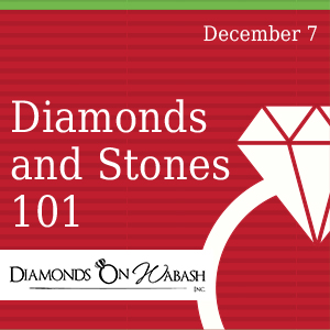 Past Event: December 7 - Diamonds and Stones 101