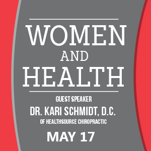 Past Event: May 17 - Women and Health - We Got Your Back in 2017!