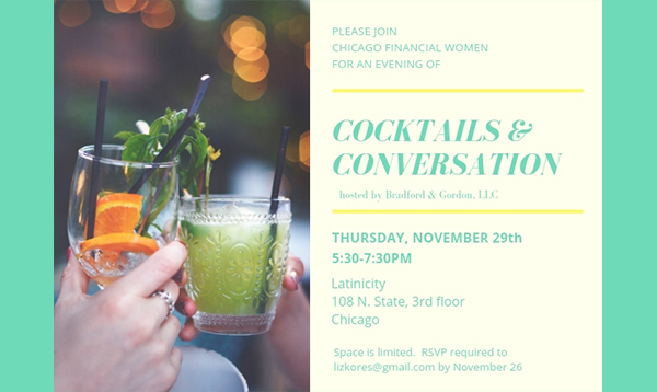 Past Event: November 29 - Fall Happy Hour